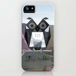 Mind the Owl! iPhone Case