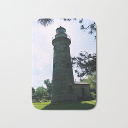 Erie Land Lighthouse Bath Mat