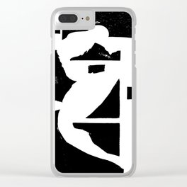 Dancing Spaces 1 Clear iPhone Case