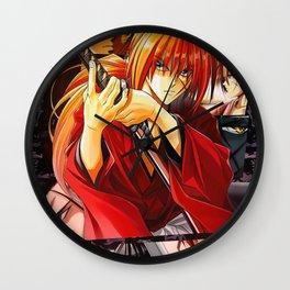 Ultimate Kenshin X Samurai Wall Clock