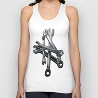 tool Tank Tops featuring Tool by LewisLeathers