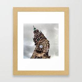 Clock Tower, Sheffield (2) Framed Art Print