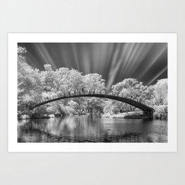 Peaceful Bridge Art Print