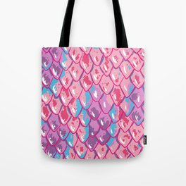 Snake Scales Tote Bag