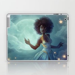 Lady of the sky Laptop & iPad Skin