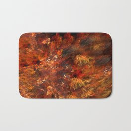 In fire Bath Mat