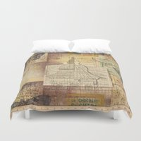 sketch Duvet Covers featuring Sketch by Shenreice