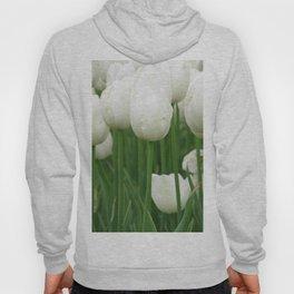 White Tulips Hoody