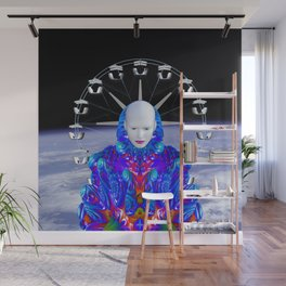 Fairground in Space Wall Mural