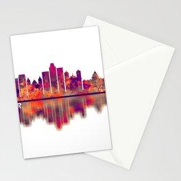 Salvador Brazil Skyline Stationery Cards