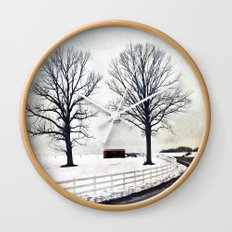 Bended Wall Clock