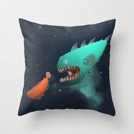 RON & NASH Throw Pillow