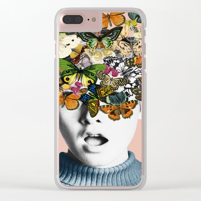 Twiggy Surprise Clear iPhone Case