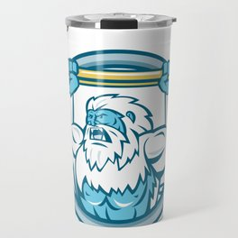 Yeti Lifting J Hook Circle Retro Travel Mug