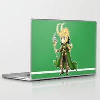 loki Laptop & iPad Skins featuring Loki by Tiffany Willis
