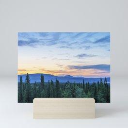 Healy Alaska Sunrise Mini Art Print