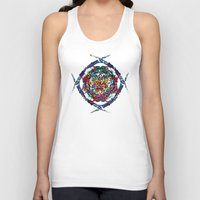 shield Tank Tops featuring SHIELD by Paix Vivante