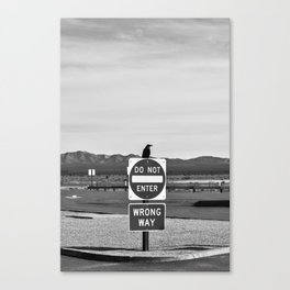 Sign of the Raven Canvas Print