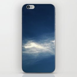 White mountains in the sky iPhone Skin