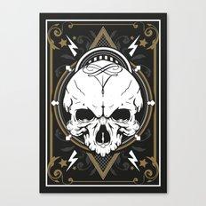 Skull design Canvas Print