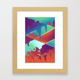 Lvl. $!X Framed Art Print