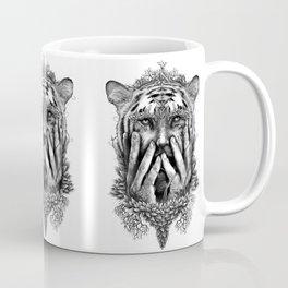 Human Nature -  Tigerman Coffee Mug