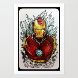 Drawing by Reeve Wong Art Print