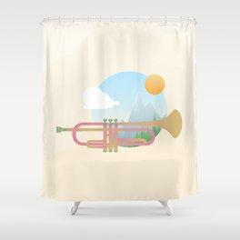 Summer Ballad Shower Curtain