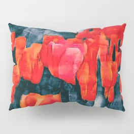 Tulip Field at Night Pillow Sham