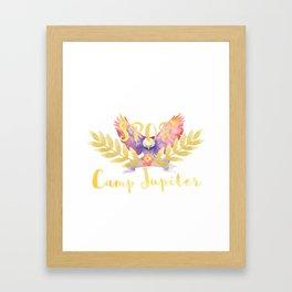 camp jupiter v2 Framed Art Print
