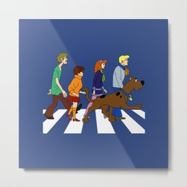 dog scooby Metal Print