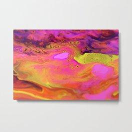 Sunset on Mars Metal Print
