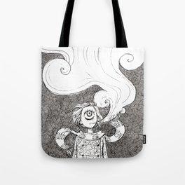 Winter Smoke Tote Bag