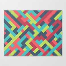 Intertwined 001 Canvas Print