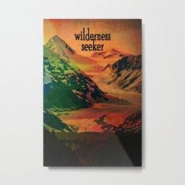 Wilderness Seeker Metal Print
