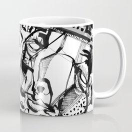 Quality Time - b&w Coffee Mug