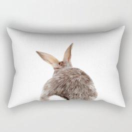 Bunny back side Rectangular Pillow