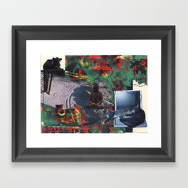 Dreaming of Winter Framed Art Print