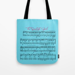 The Sweetest Girl Tote Bag