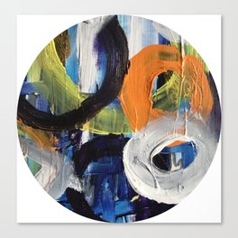 I Don't Care To Recall Abstract Canvas Print