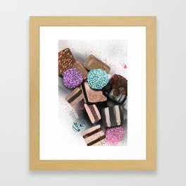 GCD Chocolat Candi Illustration  Framed Art Print