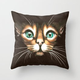 look at me! Throw Pillow