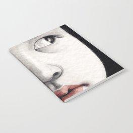 oriental girl Notebook