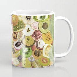 Fruit Madness (All The Fruits) Vintage Coffee Mug