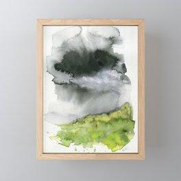 Summer's Rain Framed Mini Art Print