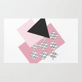 Pink - Abstract Rug