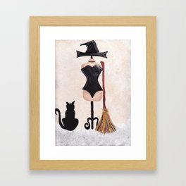 Simply Bewitching Framed Art Print