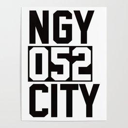 NAGOYA CITY Poster