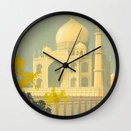 Visit India Wall Clock