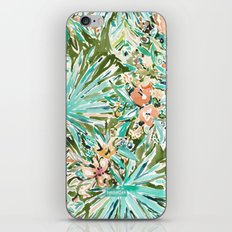FAN OUT Tropical Palmetto Floral iPhone Skin